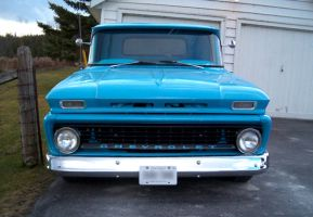 Light blue Chevy pickup 2 by Ripplin