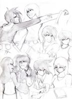 ALL MY OC PAIRINGS ALL OF THEM by Spectral-Ninja
