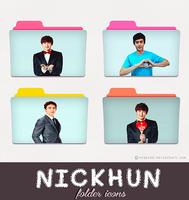 nickhun 2pm folder icons {REQUEST} by stopidd