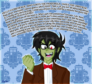 Murdoc as the 11th by Walter11x21