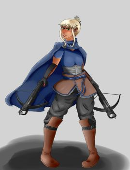 DnD Character - Ver.1 by Cloverlovly