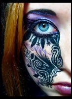 Makeup design - 1 by enigma-tyck