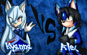 = Kyanna vs Alex - Let's Fight! = by AlexTHF