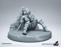 Beyond the Wall Miniature (Front) by HecM
