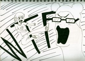 Scott Pilgrim vs The Nacken by thenacken