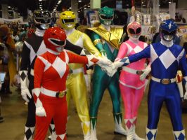 Power Rangers by SheikTheGeek