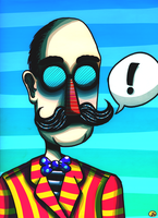 Mr. Mustache by DirtySeagulls