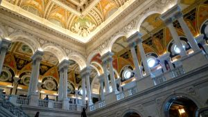 Library Of Congress, DC by go4music