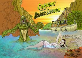 Creature From Black Lagoon 9 by SBuz