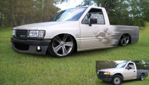 holden rodeo chop by vnsupreme