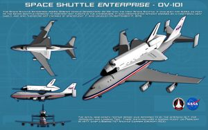 Space Shuttle Enterprise ortho [new] [updated] by unusualsuspex