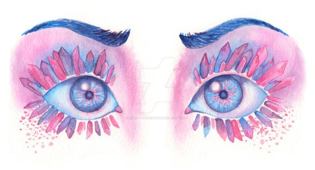 Crystal Lashes by Lukia-GravenHeart