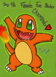30DDC Day4Charmander by AngilieSnape