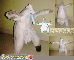 beartic papercraft / christmas is near! special by javierini