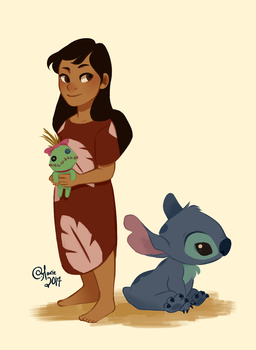 Lilo and Stitch by TheGingerMenace123
