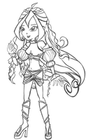 Sophix Bloom - Uncolored by shinneth