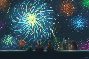 RoN: Aquiary - Memory of Fireworks by RoyLover