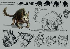 TigerToad Concept by TeaDino