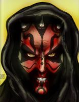 Darth Maul by tite-pao