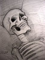 Skull (portrait) by myconius