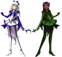 Sailor senshi Gals Set 2 by lucario515