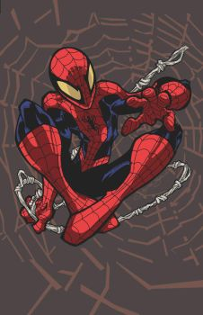 Spidey Swings by Fexx-Neon