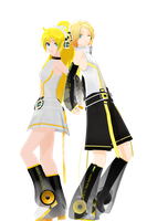 Append Rinto and Lenka by maydayfireball
