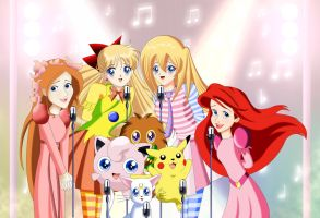 .: Singing with Pokemons :. by Sincity2100