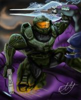 Master Chief by Pann-Ash-Designs