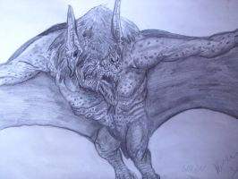 Giant bat version  2 by Teratophoneus