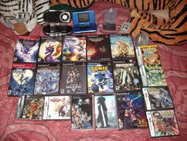 My Full Game Collection by DragonHeartLuver
