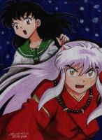 Inuyasha by krow000666