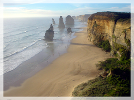 The 12 Apostles, Australia by coathanger007