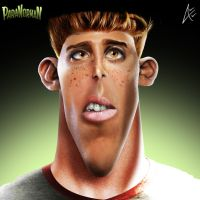 Mitch Portrait- Paranorman by Andersiano