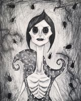 The Other Mother/The Beldam from Coraline. by Kongzilla2010