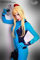 Samus Smile by DarkTifaStrife