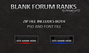 Blank Forum Ranks 1.4 by bry5012