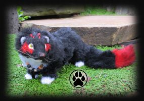 SOLD Grimm ferret commission poseable artdoll! by CreaturesofNat