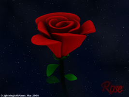 Night of the Rose by LightningIsMyName