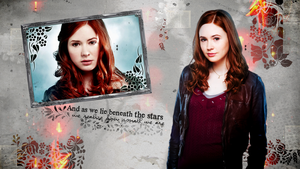 Amy Pond wallpaper by charmingangel22