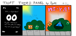 That Third Panel - More Friends #9 by Roy4242