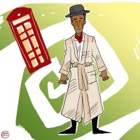 Inspector Spacetime by IncenteFalconer
