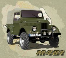 M461 Romanian Vehicle by kenpoist