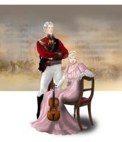 Duke of Wellington and Cecilia by Ayhe