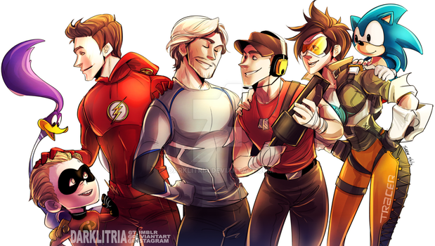 Personal Fav Speedsters by DarkLitria