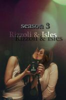Rizzoli and Isles kiss by RussiaNet