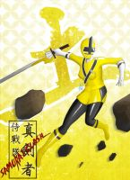 Samurai Yellow by the-newKid