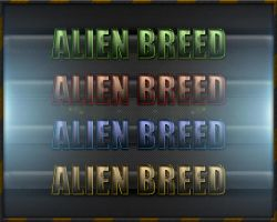 Alien Breed Text Styles -FREE- by Xiox231