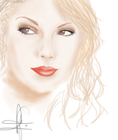 My UNfinished Art of TAYLOR SWIFT by KyokiMatel08