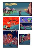 Meanwhile In Hyrule.. by IndianaJonas